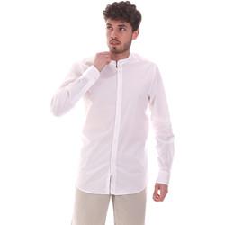 tekstylia Męskie Koszule z długim rękawem Sseinse CE639SS Biały