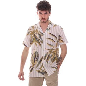 tekstylia Męskie Koszule z krótkim rękawem Sseinse CE661SS Beżowy