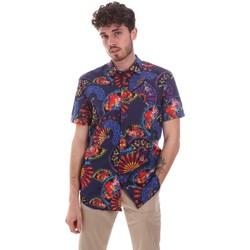 tekstylia Męskie Koszule z krótkim rękawem Sseinse CE665SS Niebieski