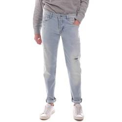 tekstylia Męskie Jeansy straight leg Sseinse PJE763SS Niebieski