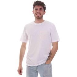 tekstylia Męskie T-shirty z krótkim rękawem Sseinse TE1852SS Biały