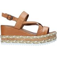 Buty Damskie Sandały Bueno Shoes 21WQ6002 Brązowy