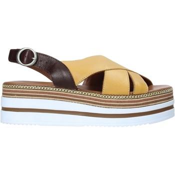 Buty Damskie Sandały Bueno Shoes 21WS5704 Żółty