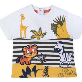 tekstylia Dziecko T-shirty z krótkim rękawem Chicco 09067093000000 Biały