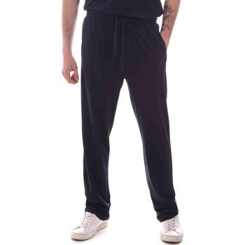 tekstylia Męskie Spodnie dresowe Key Up 2M977 0001 Niebieski