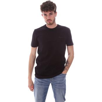 tekstylia Męskie T-shirty z krótkim rękawem Antony Morato MMKS01855 FA120022 Niebieski