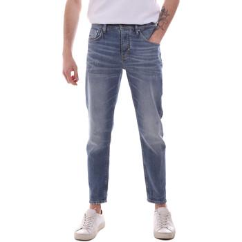 tekstylia Męskie Jeansy straight leg Antony Morato MMDT00251 FA750302 Niebieski