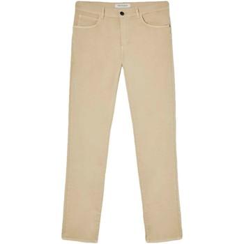 tekstylia Męskie Spodnie z pięcioma kieszeniami Trussardi 52J00007-1T005015 Beżowy