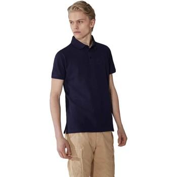tekstylia Męskie Koszulki polo z krótkim rękawem Trussardi 52T00492-1T003600 Niebieski