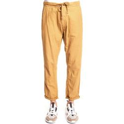 tekstylia Męskie Spodnie z lejącej tkaniny / Alladynki Gaudi 111GU25020 Beżowy