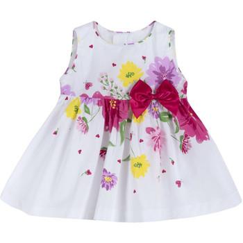 tekstylia Dziewczynka Sukienki krótkie Chicco 09003900000000 Biały