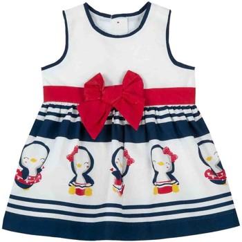 tekstylia Dziewczynka Sukienki krótkie Chicco 09003809000000 Biały
