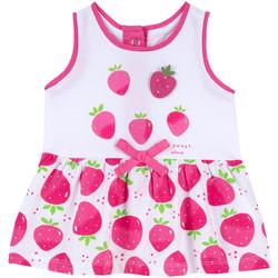 tekstylia Dziewczynka Sukienki krótkie Chicco 09003810000000 Różowy