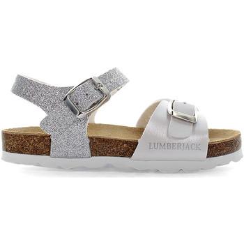 Buty Dziecko Sandały Lumberjack SGB4206 001EU X65 Biały