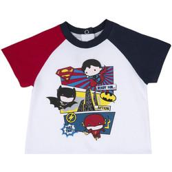 tekstylia Dziecko T-shirty z krótkim rękawem Chicco 09067358000000 Biały