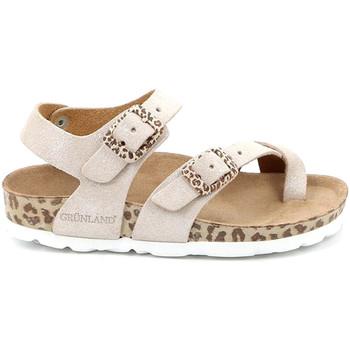Buty Dziecko Sandały Grunland SB1520 Beżowy
