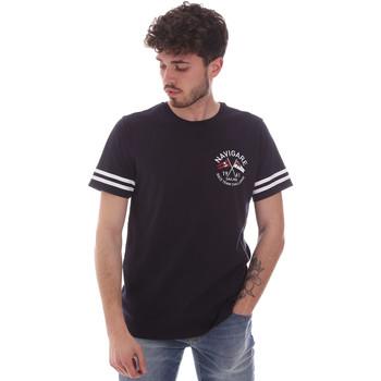tekstylia Męskie T-shirty z krótkim rękawem Navigare NV31123 Niebieski