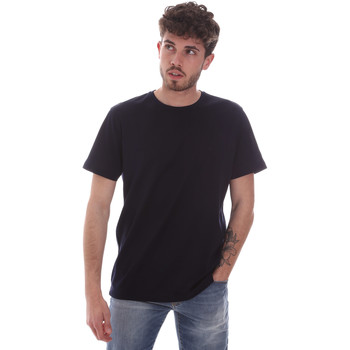 tekstylia Męskie T-shirty z krótkim rękawem Navigare NV71003 Niebieski