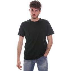 tekstylia Męskie T-shirty z krótkim rękawem Navigare NV71003 Zielony