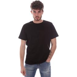 tekstylia Męskie T-shirty z krótkim rękawem Navigare NV71003 Czarny