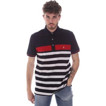 tekstylia Męskie Koszulki polo z krótkim rękawem Navigare NV70028 Niebieski