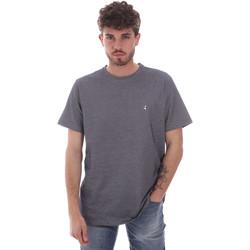 tekstylia Męskie T-shirty z krótkim rękawem Navigare NV81007 Szary