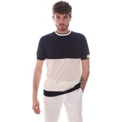 tekstylia Męskie T-shirty z krótkim rękawem Antony Morato MMSW01166 YA100062 Niebieski