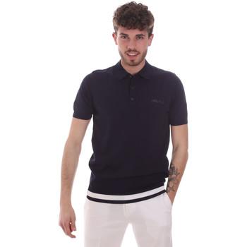tekstylia Męskie Koszulki polo z krótkim rękawem Antony Morato MMSW01174 YA500057 Niebieski