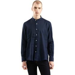 tekstylia Męskie Koszule z długim rękawem Refrigiwear RM0C10100LI9110 Niebieski