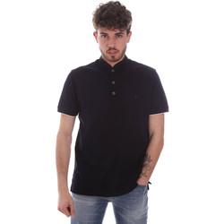 tekstylia Męskie Koszulki polo z krótkim rękawem Navigare NV72072 Niebieski