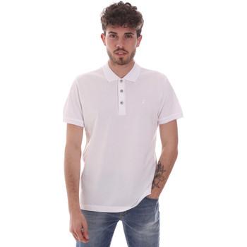 tekstylia Męskie Koszulki polo z krótkim rękawem Navigare NV82108 Biały