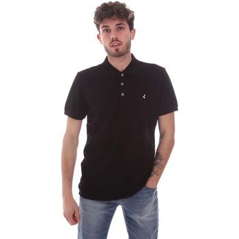tekstylia Męskie Koszulki polo z krótkim rękawem Navigare NV82108 Czarny