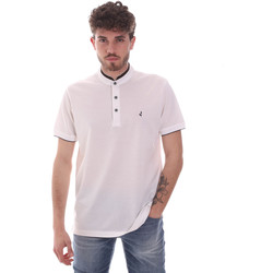 tekstylia Męskie Koszulki polo z krótkim rękawem Navigare NV72072 Biały