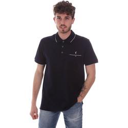 tekstylia Męskie Koszulki polo z krótkim rękawem Navigare NV72068 Niebieski