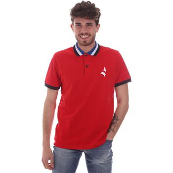 tekstylia Męskie Koszulki polo z krótkim rękawem Navigare NV82116 Czerwony