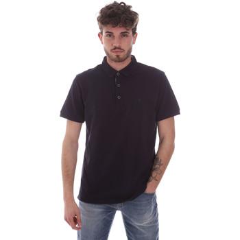 tekstylia Męskie Koszulki polo z krótkim rękawem Navigare NV82124 Niebieski
