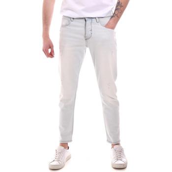 tekstylia Męskie Jeansy slim fit Antony Morato MMDT00251 FA750302 Niebieski