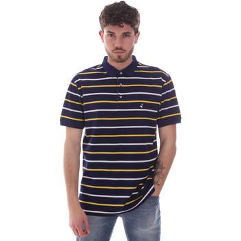tekstylia Męskie Koszulki polo z krótkim rękawem Navigare NV70029 Niebieski