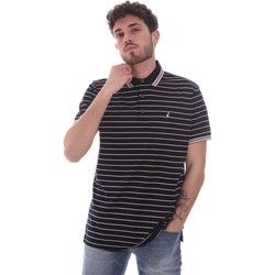 tekstylia Męskie Koszulki polo z krótkim rękawem Navigare NV70034 Niebieski