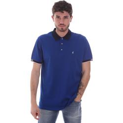 tekstylia Męskie Koszulki polo z krótkim rękawem Navigare NV72058 Niebieski