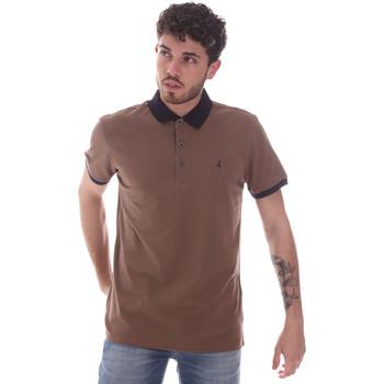 tekstylia Męskie Koszulki polo z krótkim rękawem Navigare NV82124 Brązowy