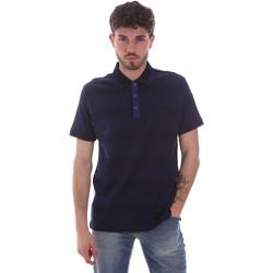 tekstylia Męskie Koszulki polo z krótkim rękawem Navigare NV70035 Niebieski