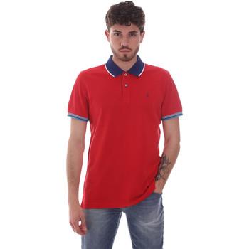 tekstylia Męskie Koszulki polo z krótkim rękawem Navigare NV82112 Czerwony