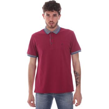 tekstylia Męskie Koszulki polo z krótkim rękawem Navigare NV82125 Czerwony