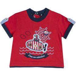 tekstylia Dziecko T-shirty z krótkim rękawem Chicco 09067162000000 Czerwony
