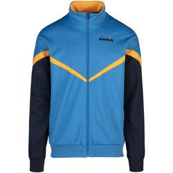 tekstylia Męskie Bluzy Diadora 502176080 Niebieski