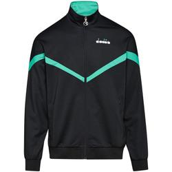 tekstylia Męskie Bluzy Diadora 502176080 Czarny