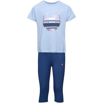 tekstylia Dziecko Komplet Diadora 102175918 Niebieski
