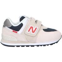 Buty Dziecko Trampki niskie New Balance NBIV574SJ2 Beżowy
