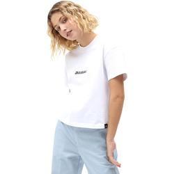 tekstylia Damskie T-shirty z krótkim rękawem Dickies DK0A4XBAWHX1 Biały